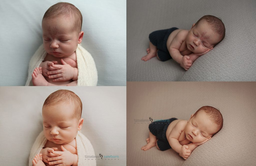 newborn editing before and after